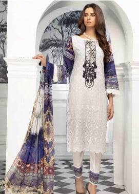Sanoor by Noor Fatima Digital Printed Lawn Unstitched 3 Piece Suit SN20P D-201 - Spring / Summer Collection