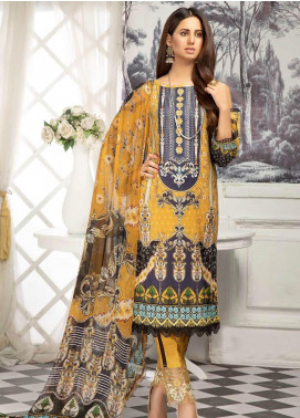 Sanoor by Noor Fatima Digital Printed Lawn Unstitched 3 Piece Suit SN20P D-203 - Spring / Summer Collection