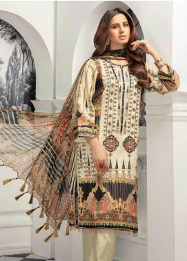 Sanoor by Noor Fatima Digital Printed Lawn Unstitched 3 Piece Suit SN20P D-204 - Spring / Summer Collection