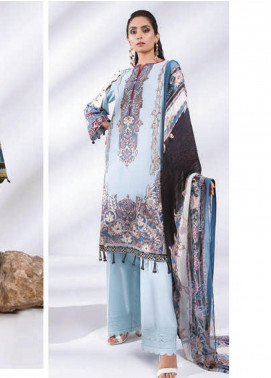 Sapphire Embroidered Dobby Unstitched 3 Piece Suit SP20L Clear Skies - Spring / Summer Collection