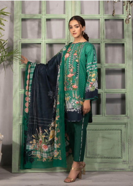 Sapphire Embroidered Nylon Unstitched 2 Piece Suit SP20L Day Dream B - Spring / Summer Collection