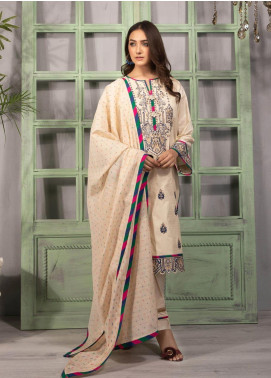 Sapphire Embroidered Dobby Unstitched 3 Piece Suit SP20L Mystic Mist - Spring / Summer Collection