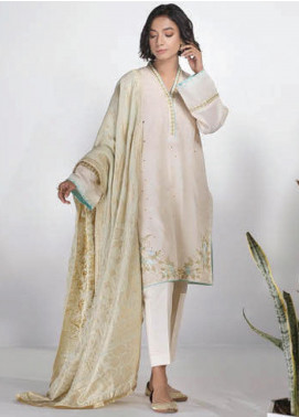 Sapphire Embroidered Dobby Unstitched 2 Piece Suit SP20L Opal - Spring / Summer Collection