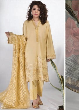 Sapphire Embroidered Lawn Unstitched 3 Piece Suit SP20L Ophelia - Spring / Summer Collection