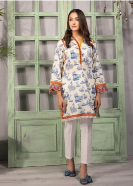 Sapphire Printed Lawn Unstitched Kurties SP20L Shangrilla - Spring / Summer Collection
