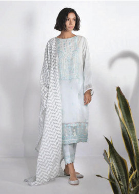 Sapphire Embroidered Lawn Unstitched 3 Piece Suit SP20L Sheer Delight - Spring / Summer Collection