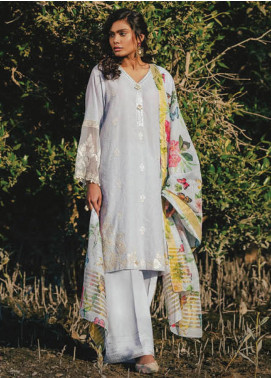 Sapphire Embroidered Jacquard Unstitched 3 Piece Suit SP20L Spring Moment - Spring / Summer Collection