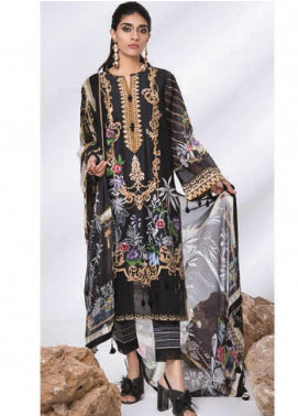 Sapphire Embroidered Lawn Unstitched 3 Piece Suit SP20L Subtle Strokes - Spring / Summer Collection