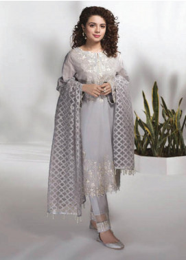 Sapphire Embroidered Lawn Unstitched 3 Piece Suit SP20L Tranquil Mist - Spring / Summer Collection