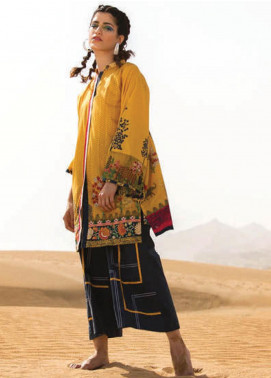 Sapphire Embroidered Lawn Unstitched 2 Piece Suit SP20L Vibrant Vibes A - Spring / Summer Collection