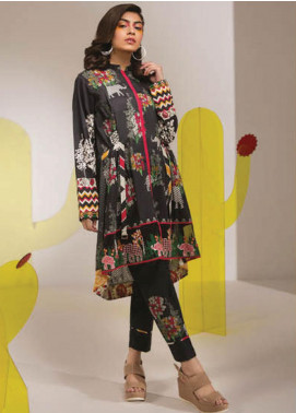 Sapphire Embroidered Lawn Unstitched 2 Piece Suit SP20L Vibrant Vibes B - Spring / Summer Collection
