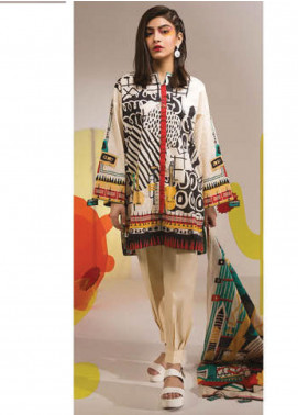Sapphire Printed Lawn Unstitched 2 Piece Suit SP20L Whimsical - Spring / Summer Collection