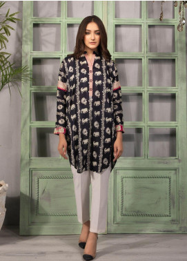 Sapphire Printed Lawn Unstitched Kurties SP20L Wildlife - Spring / Summer Collection