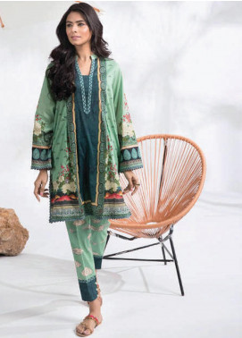 Sapphire Printed Lawn Unstitched 2 Piece Suit SP20L Winds Song A - Spring / Summer Collection