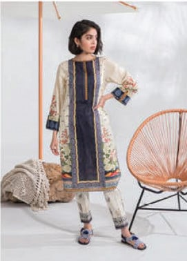 Sapphire Printed Lawn Unstitched 2 Piece Suit SP20L Winds Song B - Spring / Summer Collection