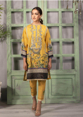 Sapphire Embroidered Lawn Unstitched 2 Piece Suit SP20L Zesty A - Spring / Summer Collection