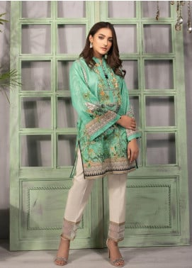 Sapphire Embroidered Lawn Unstitched 2 Piece Suit SP20L Zesty B - Spring / Summer Collection