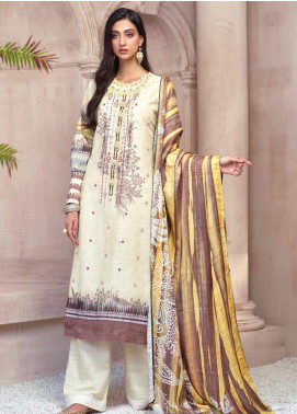 Sarang by Ittehad Textiles Printed Khaddar Unstitched 3 Piece Suit SG20PW 04 LEMON LEAF - Winter Collection