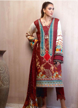 Sarang by Ittehad Textiles Printed Khaddar Unstitched 3 Piece Suit SG20PW 16 IRISH ISLAND - Winter Collection