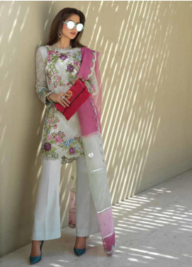 Sarang Embroidered Chiffon Unstitched 3 Piece Suit SIT19F 6 ORIENT EXCESS - Festive Collection