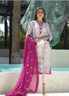 Sarang Embroidered Chiffon Unstitched 3 Piece Suit SIT19F 7 DIVA - Festive Collection