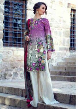 Sarang by Ittehad Textiles Embroidered Lawn Unstitched 3 Piece Suit SIT19LC 15 Nisa - Luxury lawn Collection