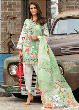 Sarang Embroidered Lawn Unstitched 3 Piece Suit S20LS 01 - Spring / Summer Collection