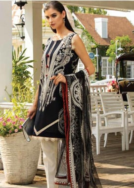 Sarang Embroidered Lawn Unstitched 3 Piece Suit S20LS 03 - Spring / Summer Collection