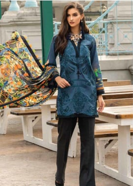 Sarang Embroidered Lawn Unstitched 3 Piece Suit S20LS 06 - Spring / Summer Collection