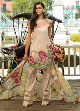 Sarang Embroidered Lawn Unstitched 3 Piece Suit S20LS 07 - Spring / Summer Collection