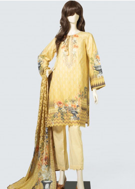 Saya Printed Lawn Unstitched 3 Piece Suit SY19S 1B - Summer Collection