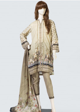 Saya Printed Lawn Unstitched 3 Piece Suit SY19S 6A - Summer Collection