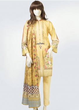 Saya Printed Lawn Unstitched 3 Piece Suit SY19S 7A - Summer Collection