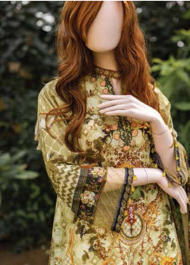 Saya Embroidered Lawn Unstitched 3 Piece Suit SY19-L2 4A - Spring / Summer Collection