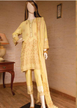 Saya Embroidered Jacquard Unstitched 3 Piece Suit SY19E 1A - Festive Collection