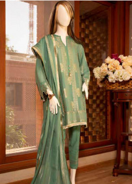 Saya Embroidered Jacquard Unstitched 3 Piece Suit SY19E 3B - Festive Collection