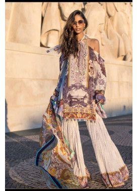 Shehla Chatoor Embroidered Lawn Unstitched 3 Piece Suit SC17L 2B