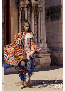 Shehla Chatoor Embroidered Lawn Unstitched 3 Piece Suit SC17L 5A