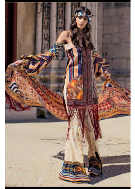 Shehla Chatoor Embroidered Lawn Unstitched 3 Piece Suit SC17L 5B