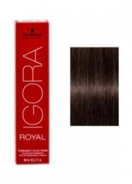 Schwarzkopf Igora Royal Natural Hair Color - Medium Brown Auburn 4-6