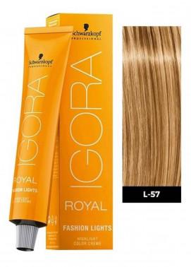Schwarzkopf Igora Royal Natural Hair Color - Gold Copper L-57