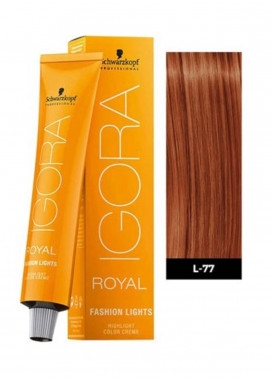 Schwarzkopf Igora Royal Natural Hair Color - Copper L-77