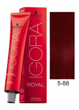 Schwarzkopf Igora Royal Natural Hair Color - Light Brown Red Extra 5-88
