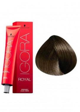 Schwarzkopf Igora Royal Natural Hair Color - Light Brown Beige 5-4