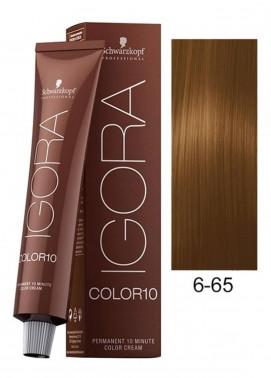 Schwarzkopf Igora Royal Natural Hair Color - Dark Blonde Auburn Gold 6-65