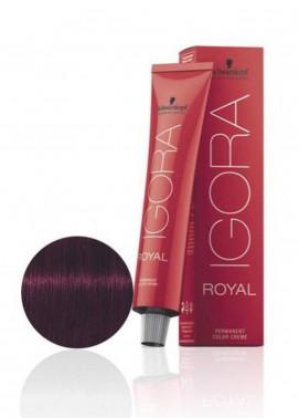 Schwarzkopf Igora Royal Natural Hair Color - Light Brown Violet Extra 5-99