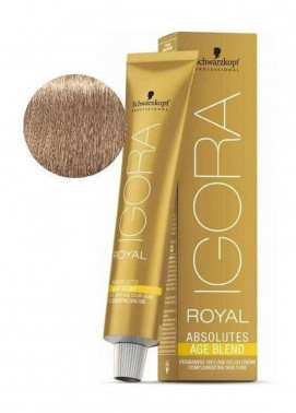 Schwarzkopf Igora Royal Absolutes Hair Color - Light Blonde Cendre Beige 8-140