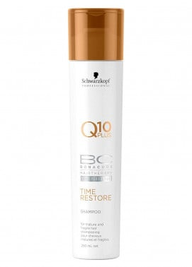 schwarzkopf BC Bonacure Q10 Time Restore Shampoo - 250 ml