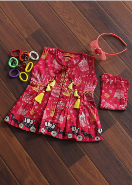 Senorita Cotton Fancy Kurtis for Girls -  KAA- 01175 SPK