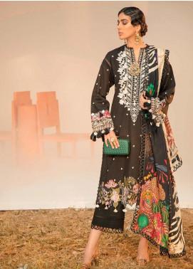 Seran Embroidered Khaddar Unstitched 3 Piece Suit SRN20W 01 FLORAL FEST - Winter Collection